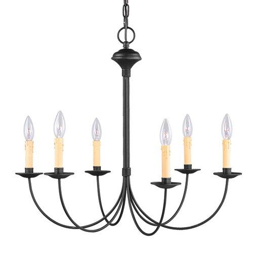 Livex Lighting Heritage 6 Light Chandelier
