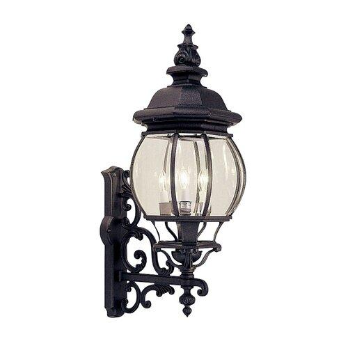 Livex Lighting Frontenac 4 Light Outdoor Wall Lantern