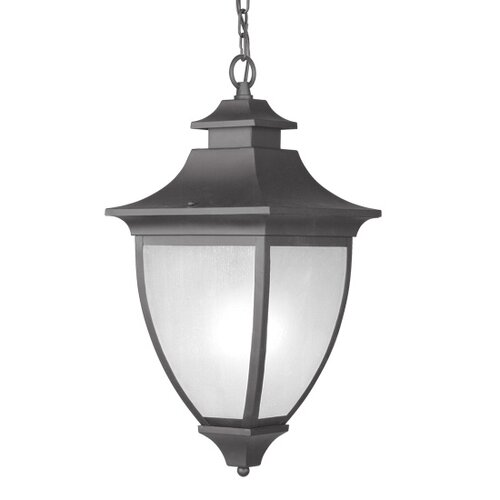 Livex Lighting Hillsdale 1 Light Outdoor Hanging Lantern