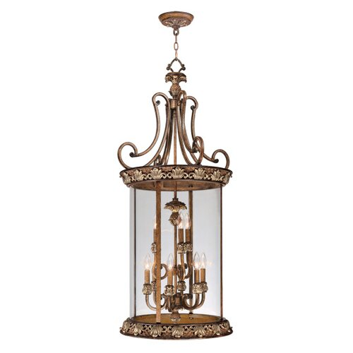 Livex Lighting Savannah 9 Light Foyer Pendant