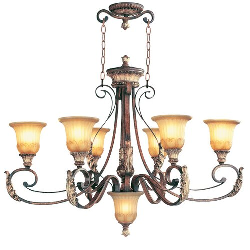 Villa Verona 6 Light Oval Chandelier