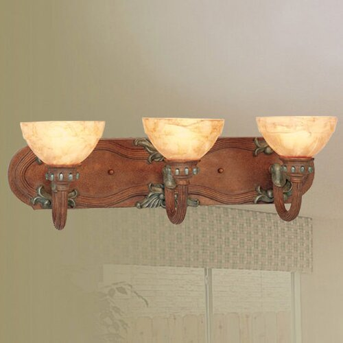 Livex Lighting Salerno 3 Light Vanity Light