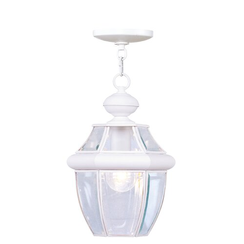 Livex Lighting Monterey 1 Light Outdoor Hanging Lantern