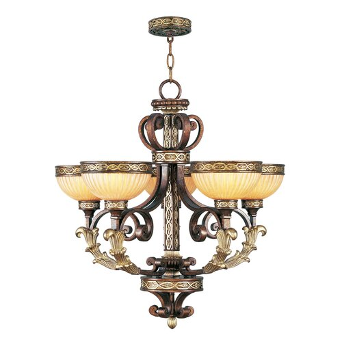 Livex Lighting Seville 5 Light Chandelier