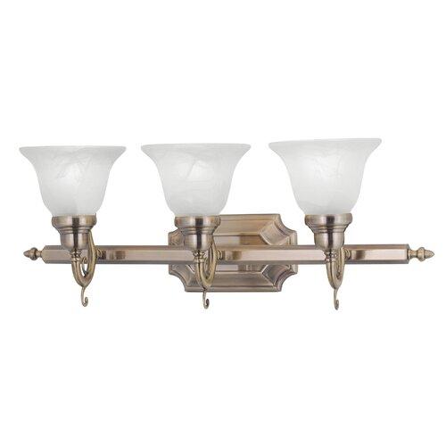 Livex Lighting French Regency 3 Light Bath Vanity Light