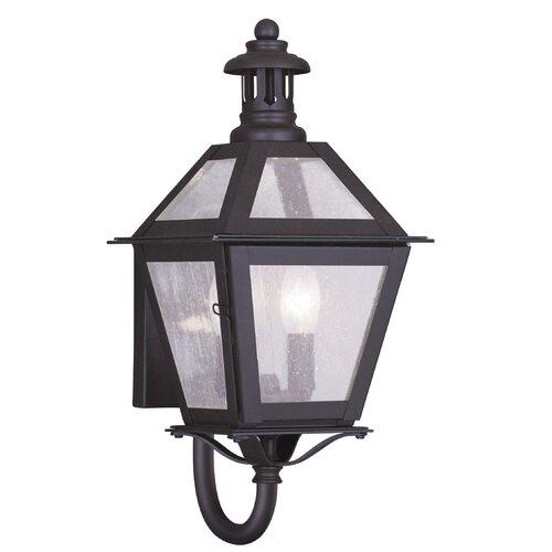 Livex Lighting Waldwick 2 Light Outdoor Wall Lantern