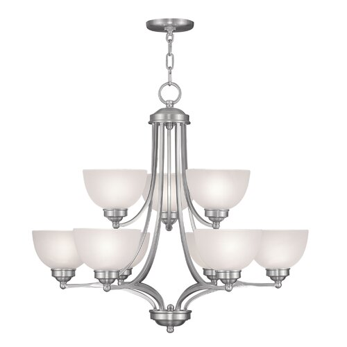 Livex Lighting Somerset 9 Light Chandelier