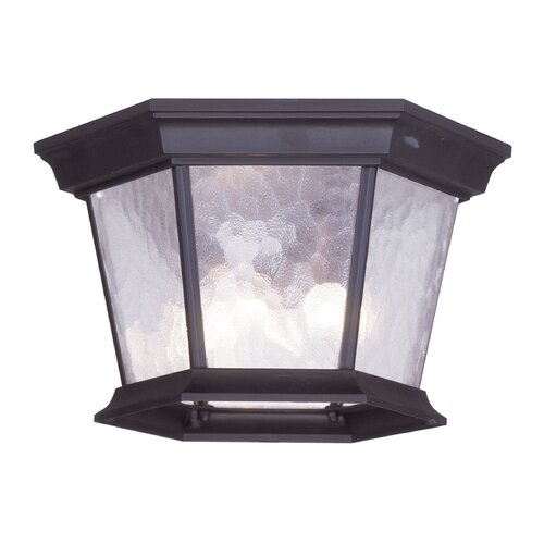 Livex Lighting Hamilton Outdoor Flush Mount