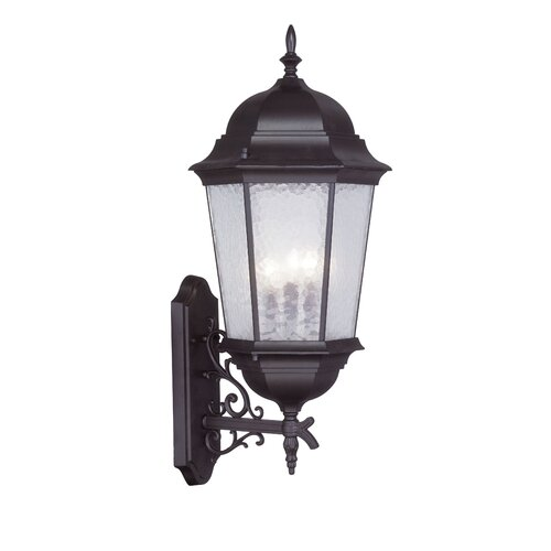 Livex Lighting Hamilton 3 Light Outdoor Wall Lantern