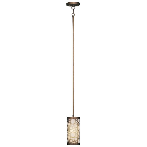 Livex Lighting Avalon 1 Light Mini Pendant