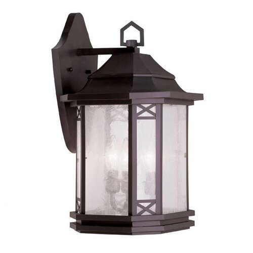 Livex Lighting Tahoe 3 Light Outdoor Wall Lantern