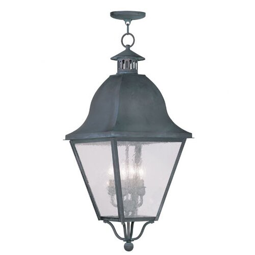Livex Lighting Amwell 4 Light Foyer Pendant