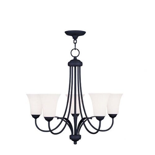 Livex Lighting Ridgedale 5 Light Chandelier