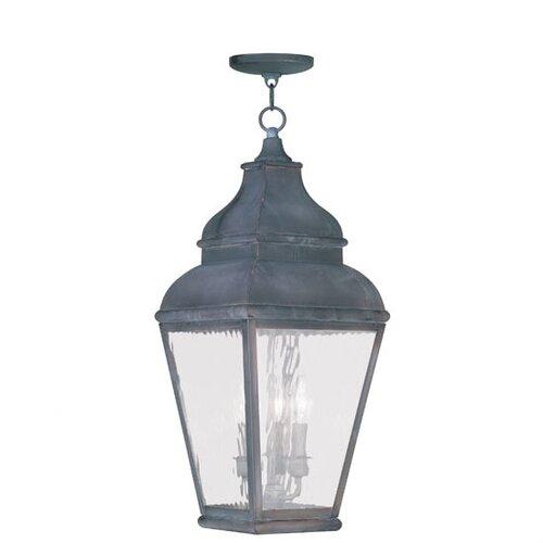 Livex Lighting Exeter 3 Light Outdoor Pendant