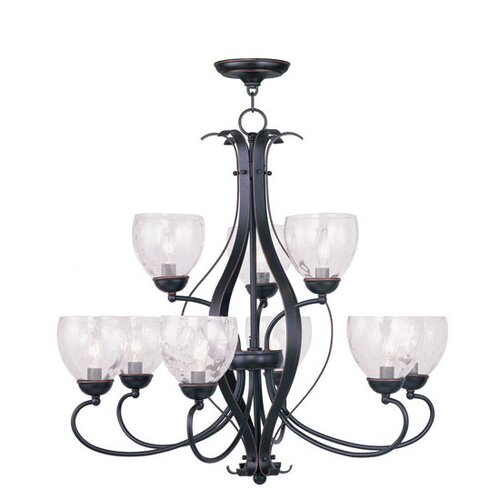 Livex Lighting Brookside 9 Light Chandelier
