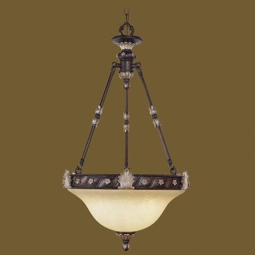 Livex Lighting Sovereign 2 Light Inverted Pendant