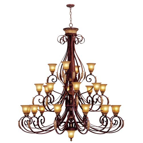Livex Lighting Villa Verona 25 Light Chandelier