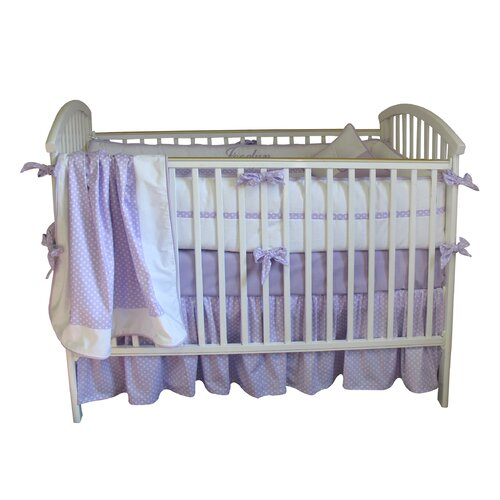 Bebe Chic Jocelyn 3 Piece Crib Bedding Set with Bumper