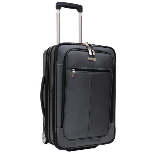 "Traveler's Choice Sienna 21"" Hybrid Hardsided Rolling Carry On Garment Bag"