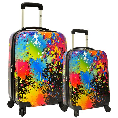 2 Piece Hardsided Expandable Luggage Set