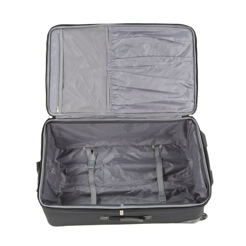 "Traveler's Choice Amsterdam 29"" Expandable Rolling Upright in Navy"