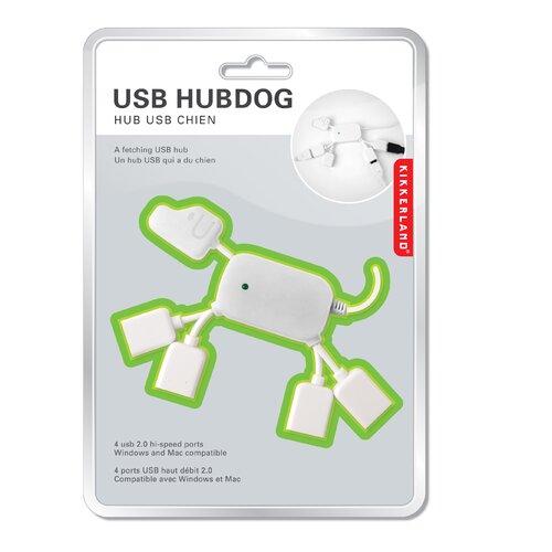 Kikkerland USB Hubdog