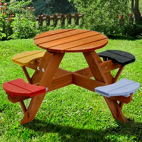 Swing Town Kids Picnic Table Reviews Wayfair