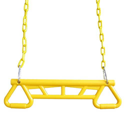 Heavy-Duty Ring and Trapeze Combo Swing