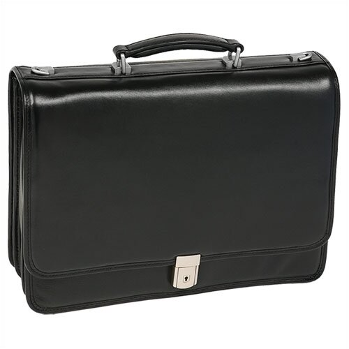 I Series River North Leather Laptop Briefcase