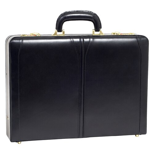 V Series Lawson Leather Attache Case
