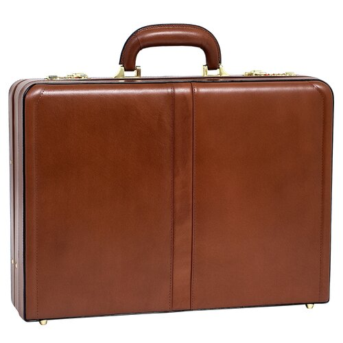 V Series Harper Leather Attache Case