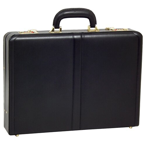 V Series Reagan Leather Attache Case