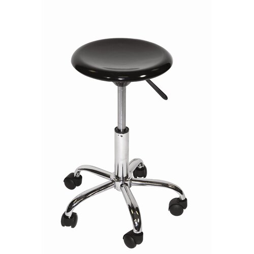 Height Adjustable Stool with Casters
