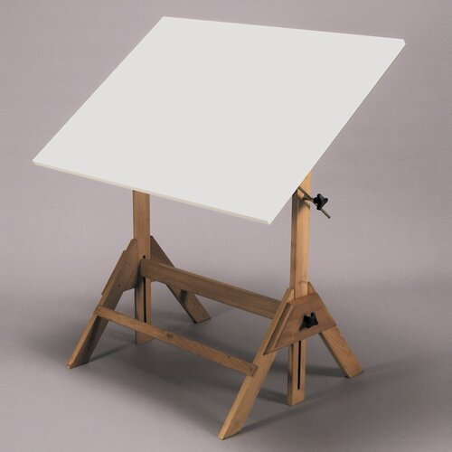 Martin Universal Design Royal Elm Melamine Drafting Table