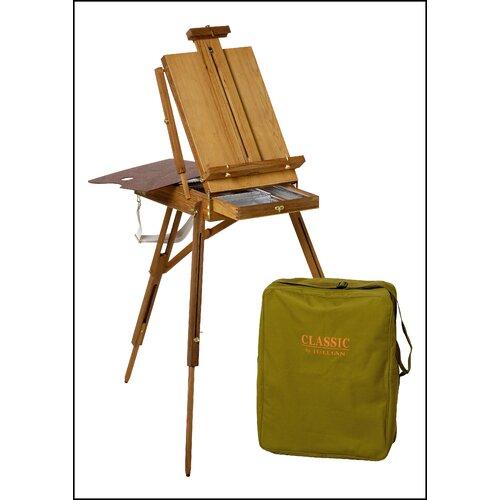 Martin Universal Design Jullian Full Size Wooden French Sketch Box Easel in Elm Wood