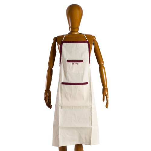 Martin Universal Design Jullian of Paris Brand Canvas Painters Apron in Unbleached Natural