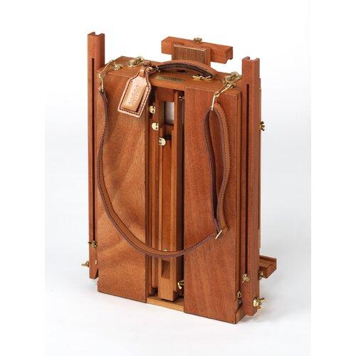 Martin Universal Design Jullian of Paris Full Size Wooden French Sketch Box Easel in Mahogany