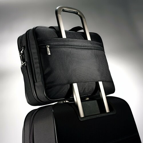 Samsonite Classic Business Cases Two Gusset Laptop Briefcase