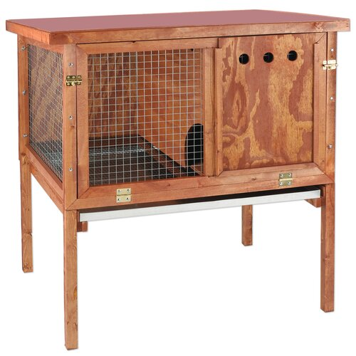 Ware Mfg Deluxe Rabbit Hutch