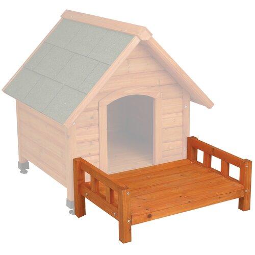 Patio for Premium A-Frame Dog Houses