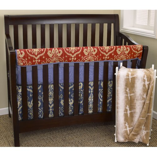 Sidekick 4 Piece Crib Bedding Set