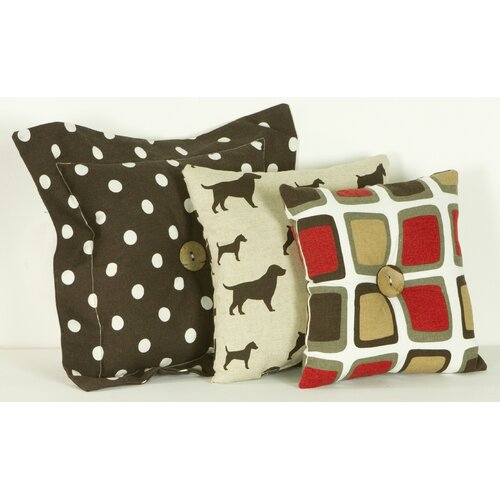 Cotton Tale Houndstooth Pillow