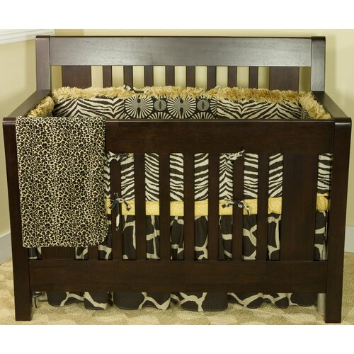 Zumba 4 Piece Crib Bedding Set