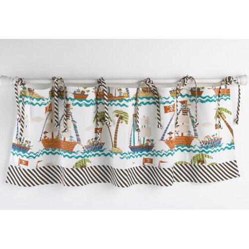 "Cotton Tale Aye Matie 50"" Curtain Valance"