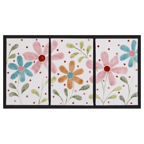Cotton Tale 3 Piece Lizzie Framed Art Set