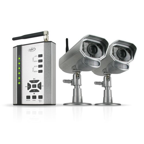 2 Digital Wireless Cameras with Receiver