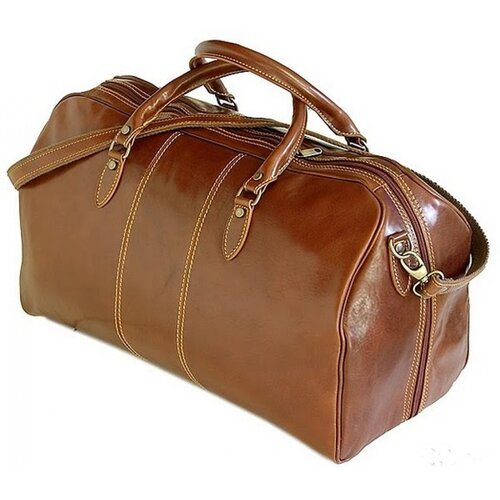 "Tony Perotti Verona 21"" Italian Leather Duffel"
