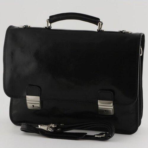 Tony Perotti Firenze Leather Laptop Briefcase