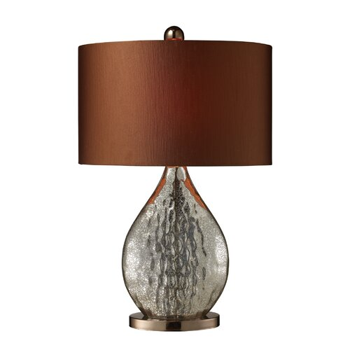 """Dimond Lighting Sovereign 23"""" H Table Lamp with Drum Shade"""