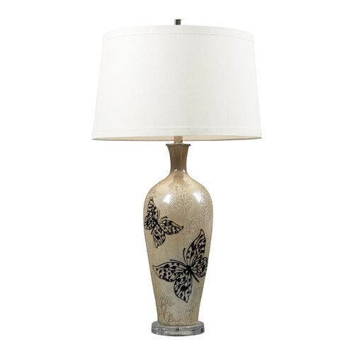 "Dimond Lighting Minot 34"" H Table Lamp with Empire Shade"